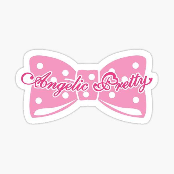 Angelic Pretty logo sticker Sticker