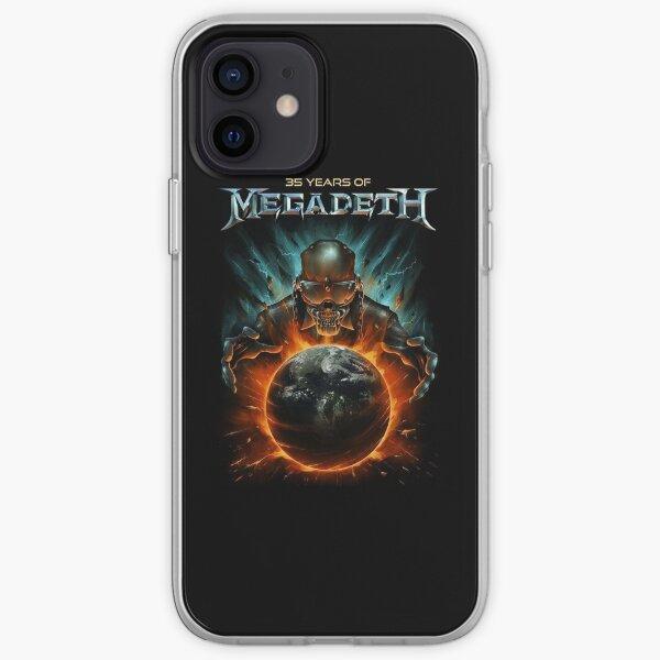 [ALTA CALIDAD] megadeth Funda blanda para iPhone