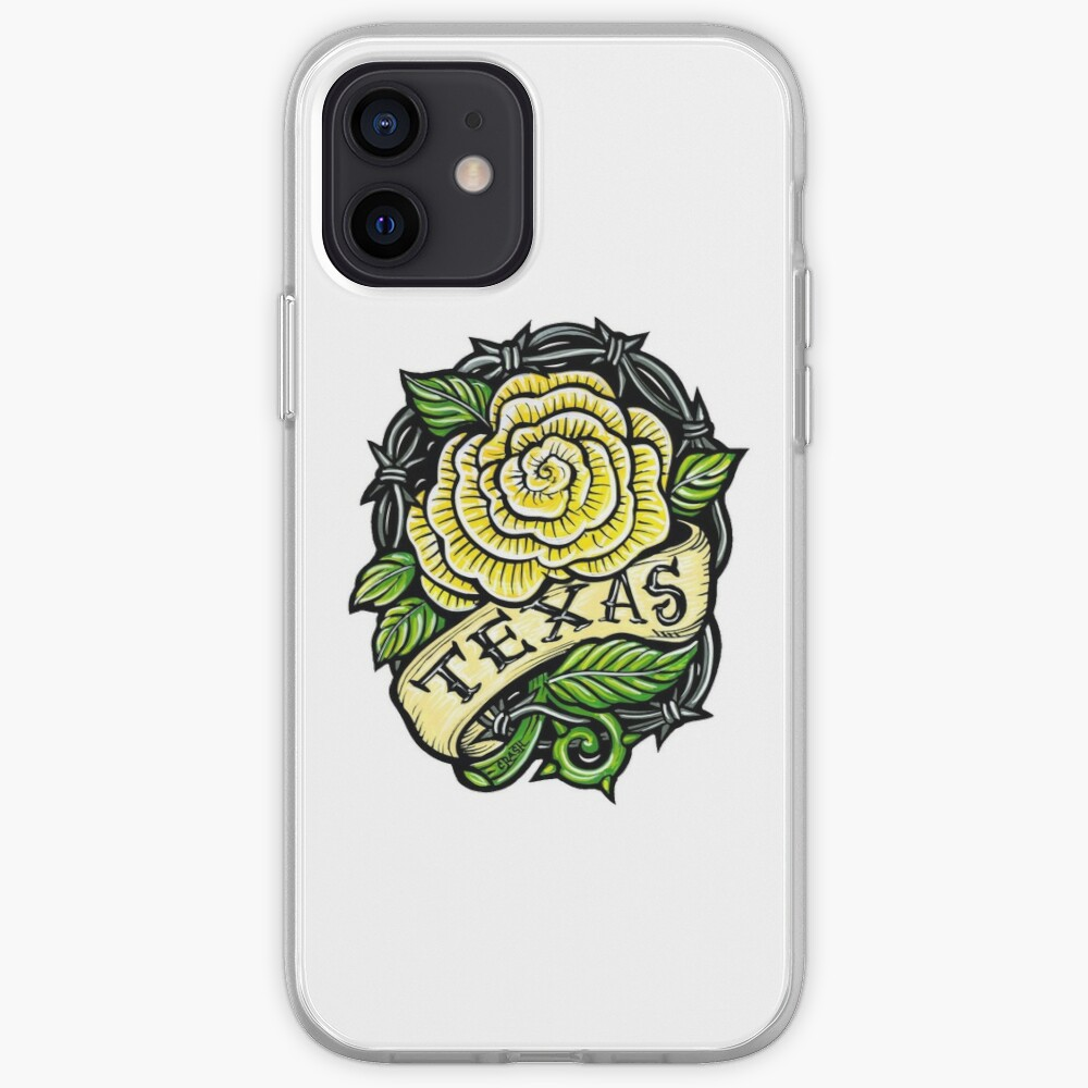 Texas Yellow Rose iPhone Case & Cover