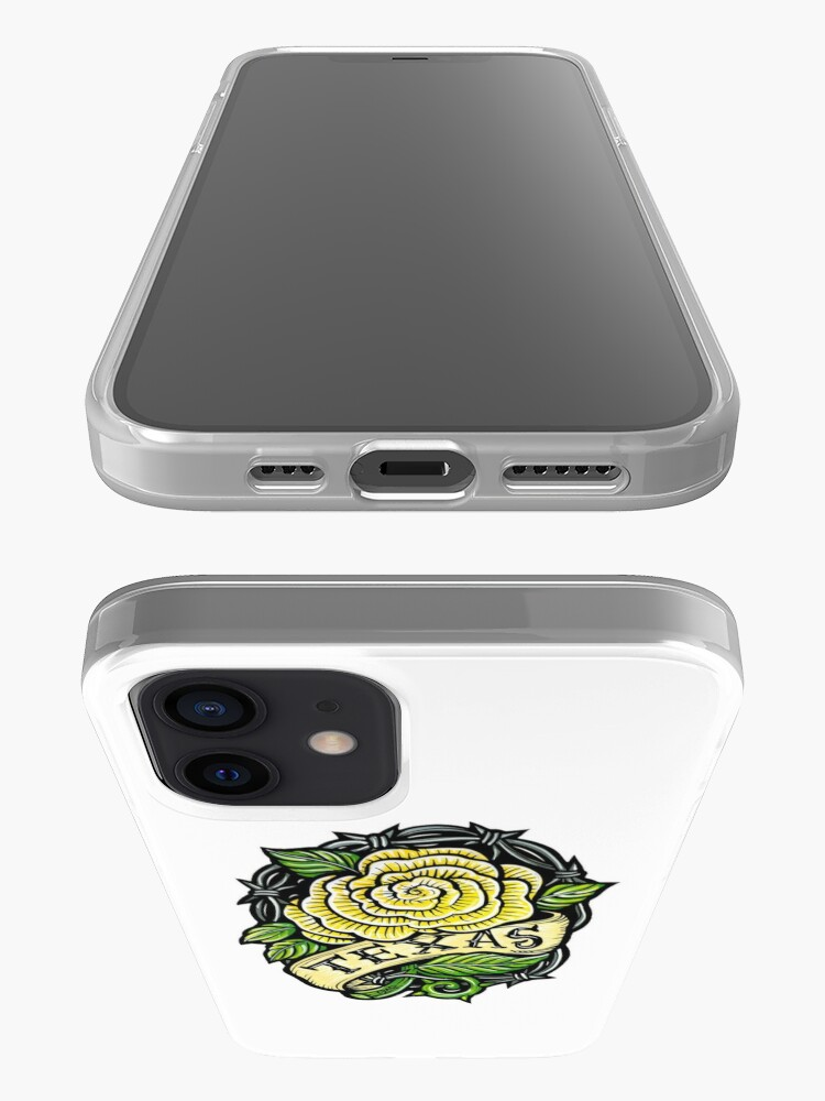 Alternate view of Texas Yellow Rose iPhone Case & Cover