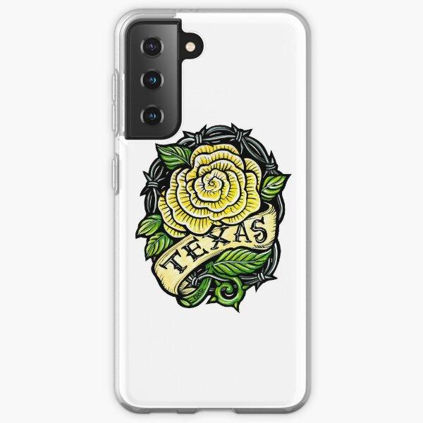 Texas Yellow Rose Samsung Galaxy Soft Case
