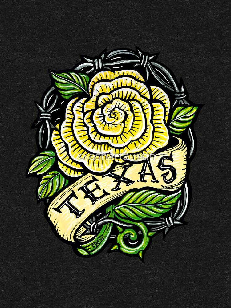 Texas Yellow Rose by crashartaustin