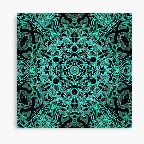 Green Circle Canvas Print