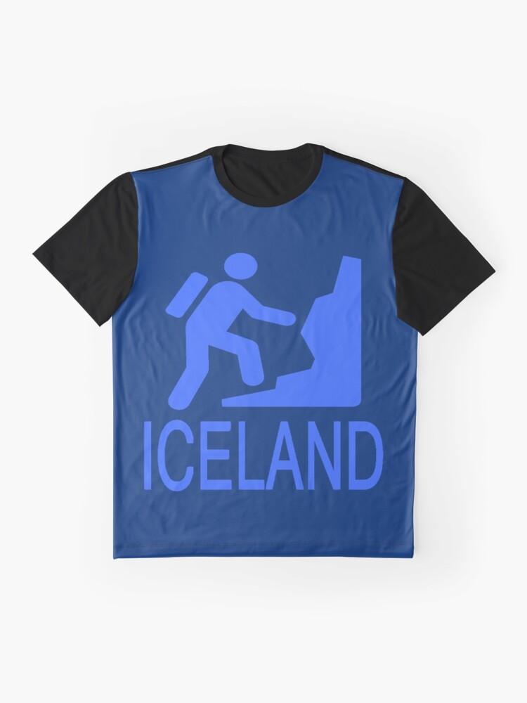 Alternative Ansicht von ISLAND Grafik T-Shirt
