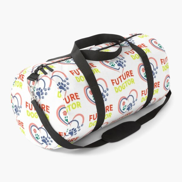 Dogtor, Future Dogtor Shirt, Future Vet Tee ,vet school shirt, dogtor funny tee, vet bod shirt Duffle Bag