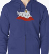 The Chicken Or The Egg Zipped Hoodie