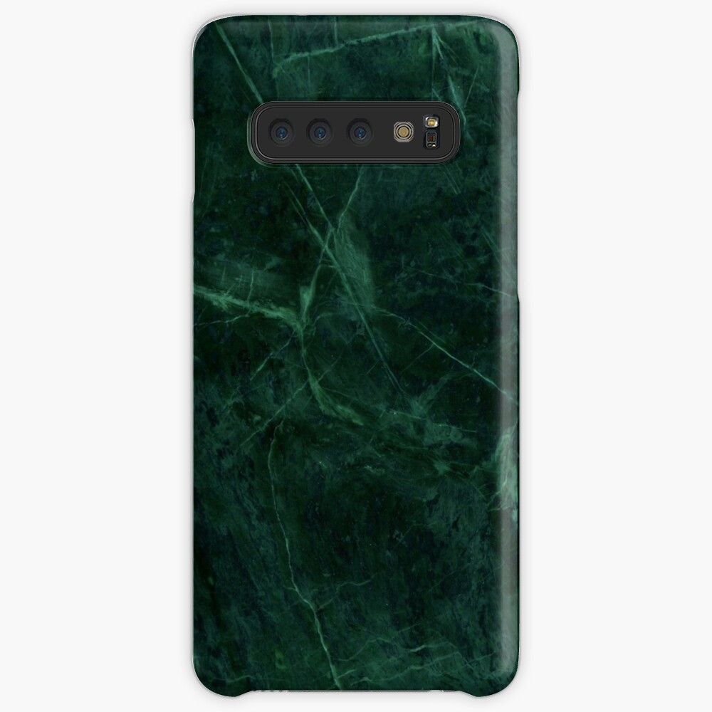Green Marble Pattern Case & Skin for Samsung Galaxy