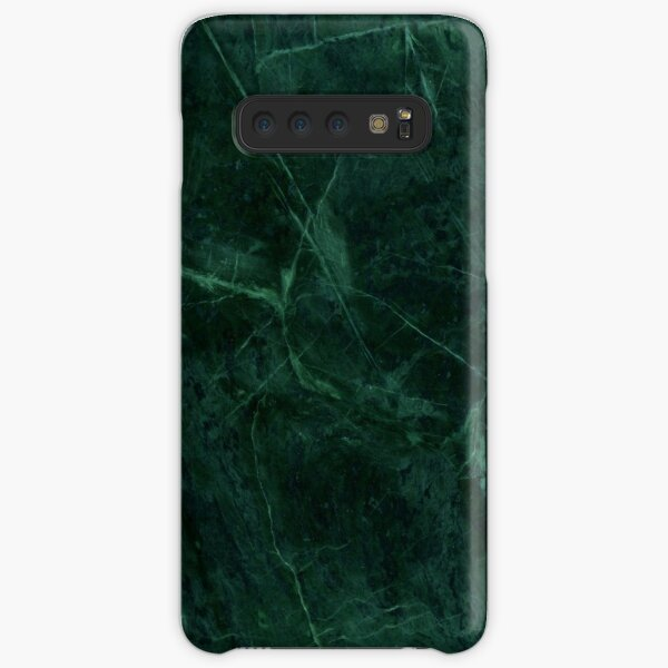 Green Marble Pattern Samsung Galaxy Snap Case