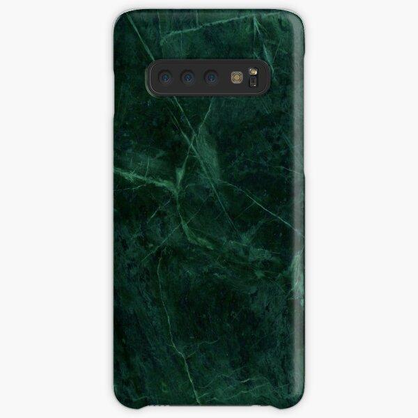 Green Marble Pattern Samsung Galaxy Snap Case