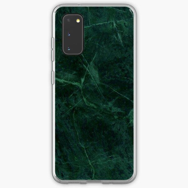 Green Marble Pattern Samsung Galaxy Soft Case