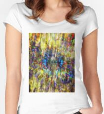 Psychedelic Dreams Women's Fitted Scoop T-Shirt