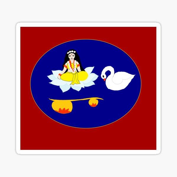 Saraswati Sticker