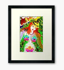 **Natural Girl*** Framed Print