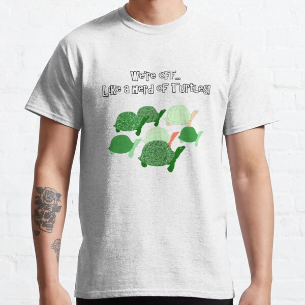 Herd Of Turtles Pattern Classic T-Shirt