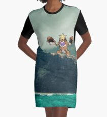 Crawdaunt Graphic T-Shirt Dress