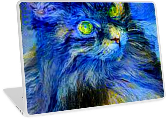 Blue Kitty by sandywv