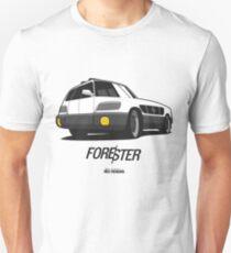 Subaru Forester Optical Illusion Unisex T-Shirt