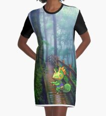 Kecleon Graphic T-Shirt Dress