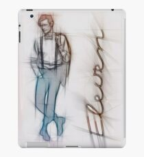 The Eleventh Doctor in Pencil Sketch iPad Case/Skin