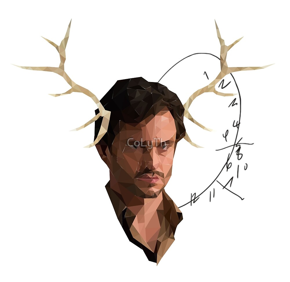 Low Poly Will Graham by CoLyTh