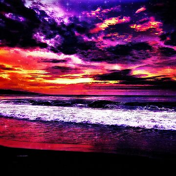Starry Beach by theWurst