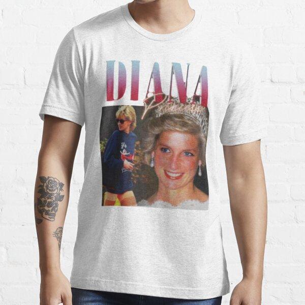 PRINCESS DIANA  Rap Hip Hop Princess Diana 90s Retro Vintage Essential T-Shirt