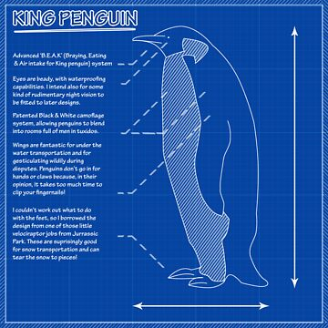 King Penguin Blueprint - Annotated by trum