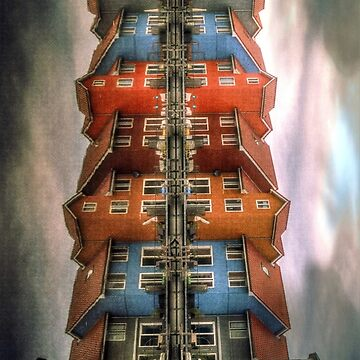 mirrored houses by theWurst