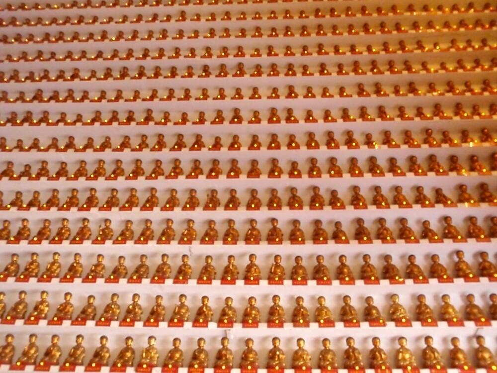 1000 Buddhas by Popewilliamb