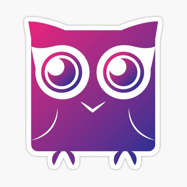 Curious Owl Sticker