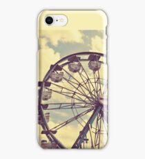 Vintage Ferris Wheel iPhone Case/Skin