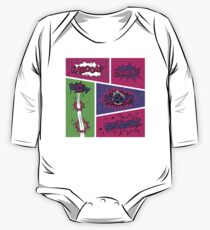 Bright and Colorful Comic Book Art Kids Clothes