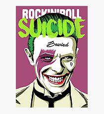 Rock Suicide Photographic Print