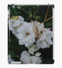 White Flower iPad Case/Skin