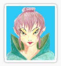 Elven Princess Sticker