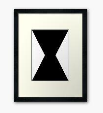 Monochromatic Heroes #3 Framed Print