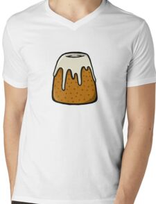 Sweet Roll Mens V-Neck T-Shirt