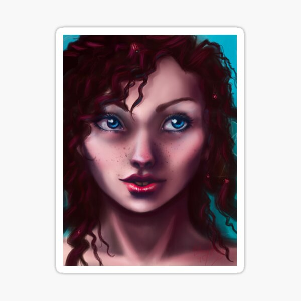 Lady of the Ladybugs Sticker
