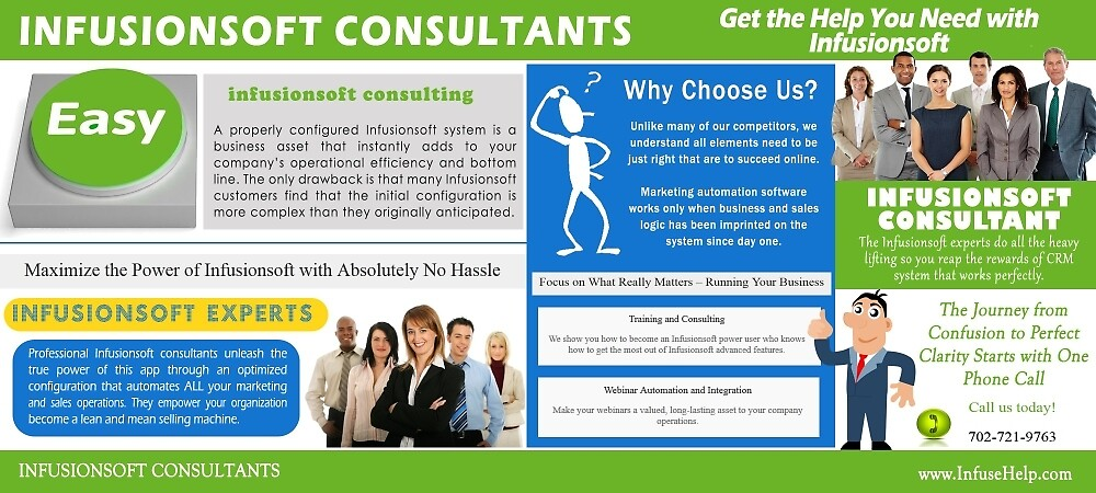 infusionsoft consultant by Consultants