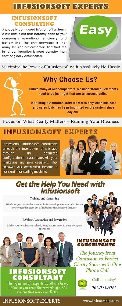 infusionsoft experts by Consultants