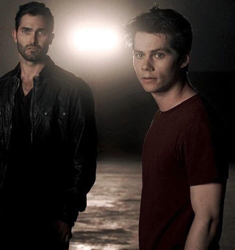 Derek and Stiles by bryannakiser