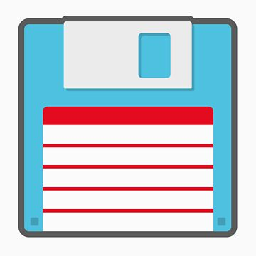 Three-point-Five Inch Floppy Disk by fourblackbirds
