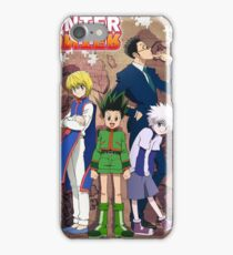 Hunter x Hunter poster iPhone Case/Skin