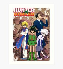 Hunter x Hunter poster Art Print