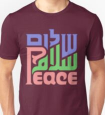 Trilingual peace graphic  T-Shirt