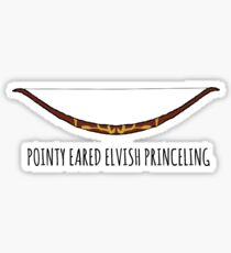 Spitze Eared Elvish Princeling Sticker