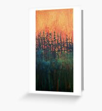 Forest Glow #2 Greeting Card