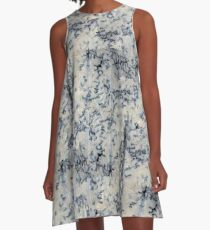 Blue Cheese A-Line Dress
