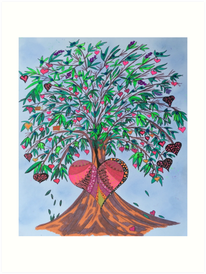 Tree Of Hearts by Helen Salter