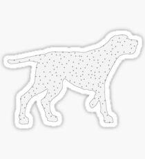 Redbone Coonhound Sticker